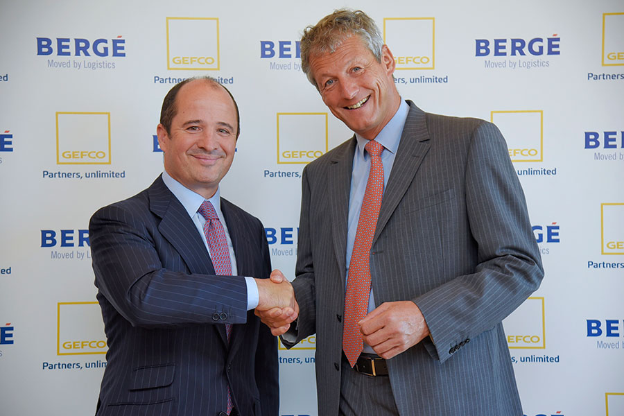 BERGÉ AND GEFCO form an alliance to develop automotive vehicle logistics in Spain