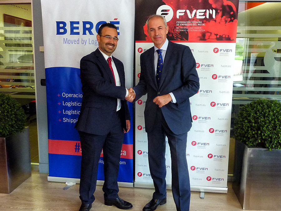 BERGÉ joins the Biscay Federation of Metal Companies as a collaborative partner