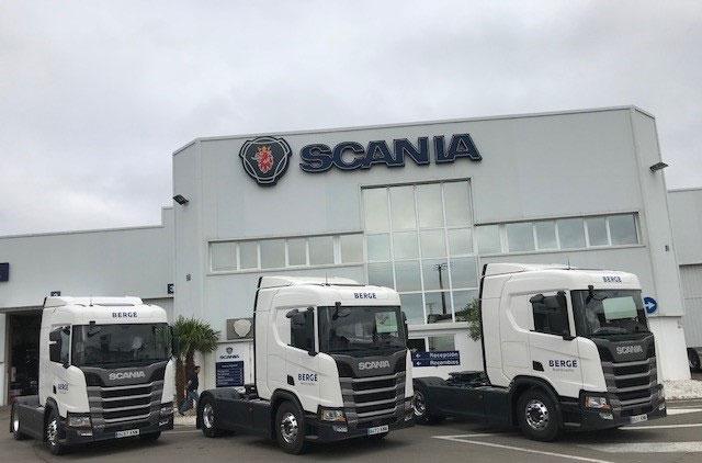 BERGÉ refuerza su servicio de transporte por carretera en Galicia