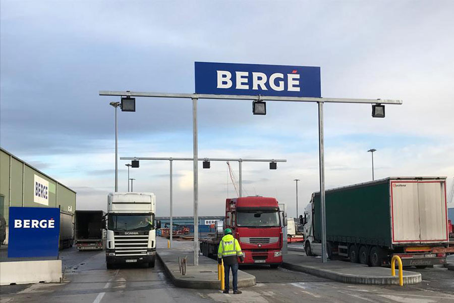 BERGÉ automates its terminal in the port of Bilbao