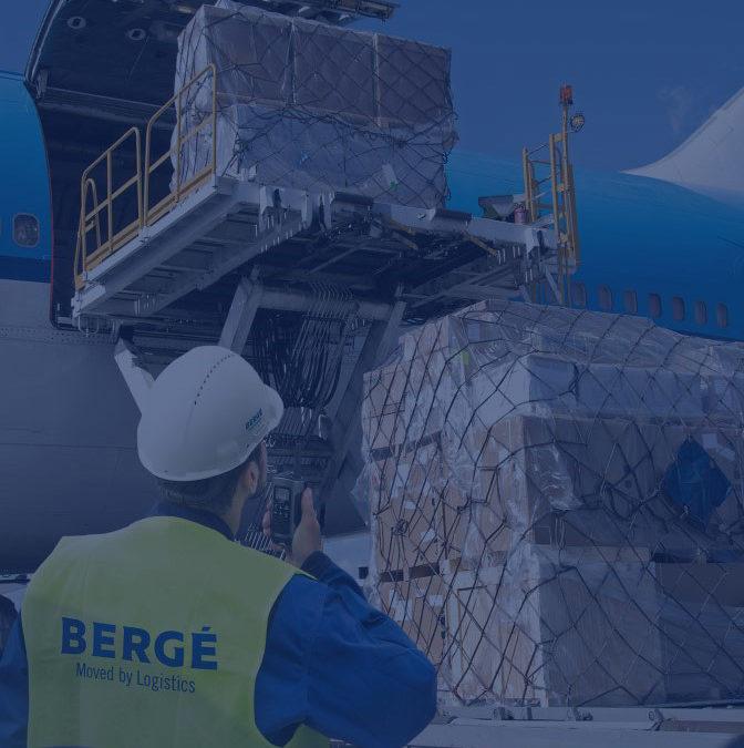 BERGÉ obtiene el certificado como agente IATA para su departamento de carga aérea