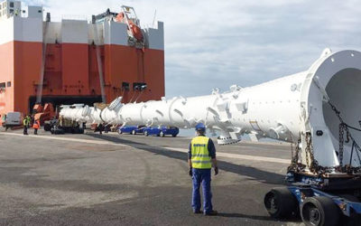 BERGÉ presents its special projects cargo solutions at BreakBulk Europe 2019