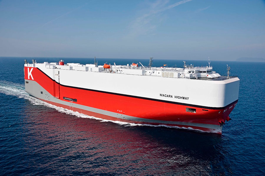 """K"" Line Car Carrier, represented by BERGÉ, welcomes a new vessel to its fleet"