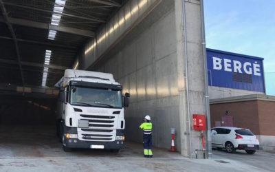 BERGÉ incrementa su capacidad para productos agroalimentarios en Tarragona