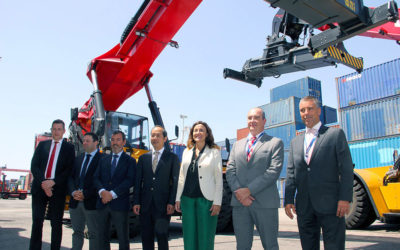 BERGÉ incorpora nuevas máquinas de contenedores para su terminal Port Nou