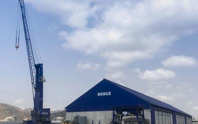 BERGÉ realiza nuevas inversiones en su centro logístico del puerto de Cartagena