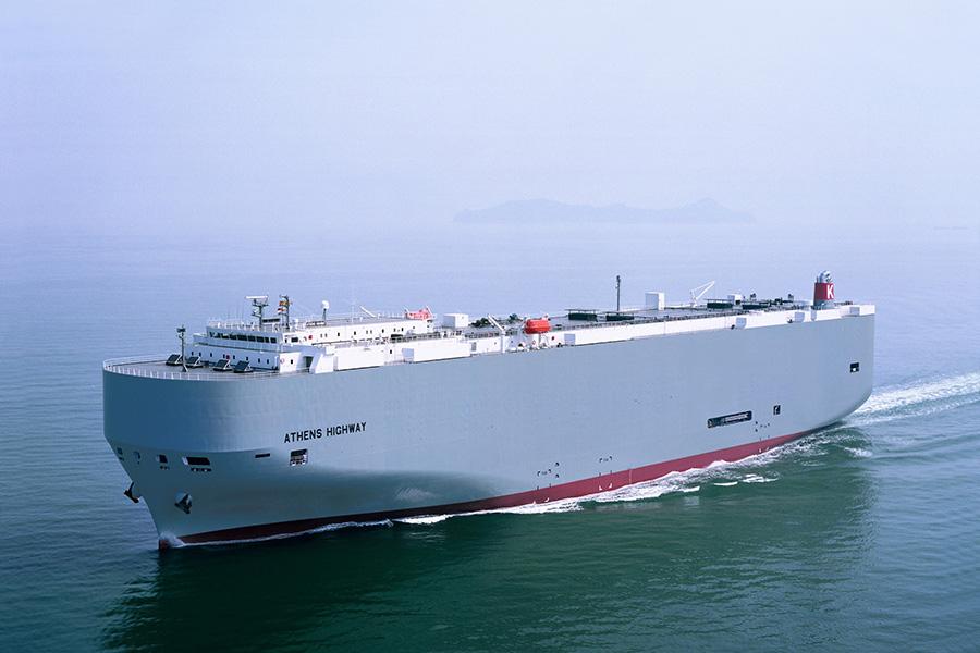 """Nueva escala de """"K"""" Line Car Carrier en Santander para su servicio de carga rodada"""