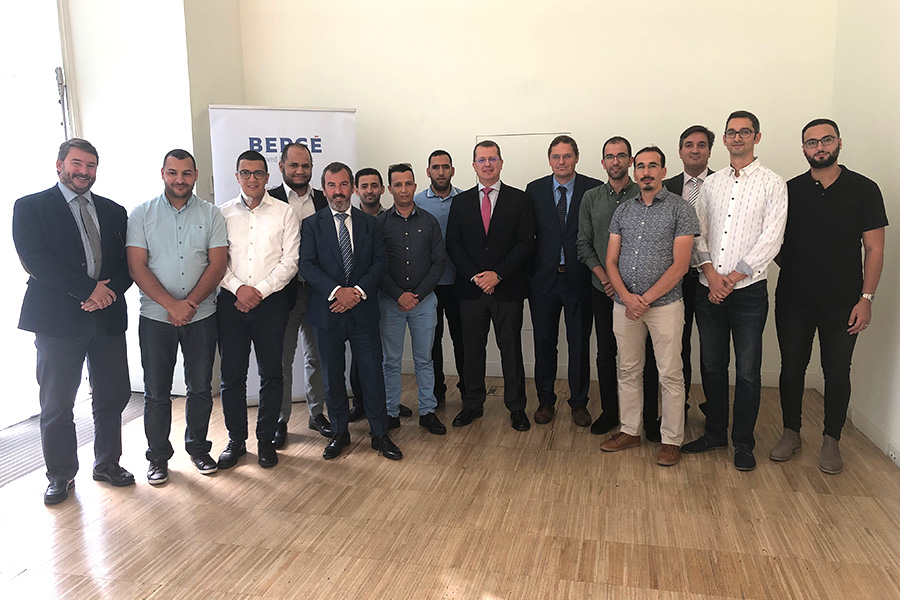 BERGÉ receives a visit from the National Ports Agency of Morocco as part of its Training Programme