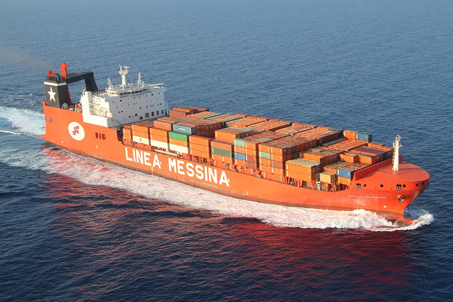 BERGÉ will be consigning Messina cargo ships