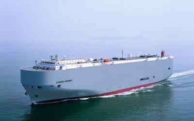"""""""K"""" Line Car Carrier comienza el año con tres escalas en el Puerto de Santander"""