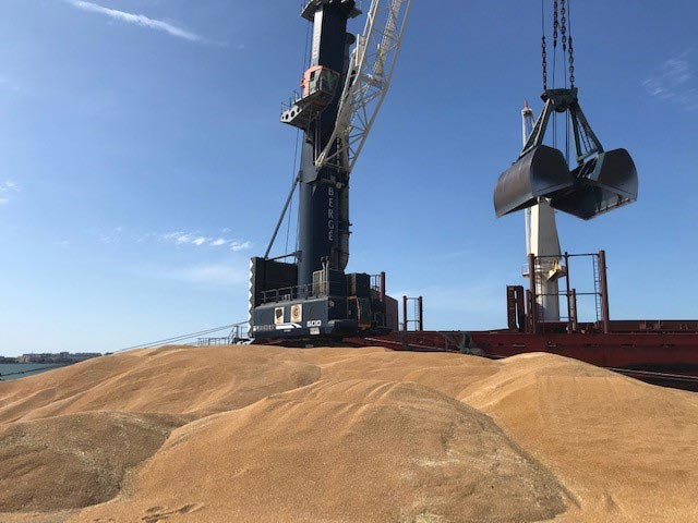 BERGÉ loads 27,500 tons of durum wheat in Cadiz to be shipped to Tunisia