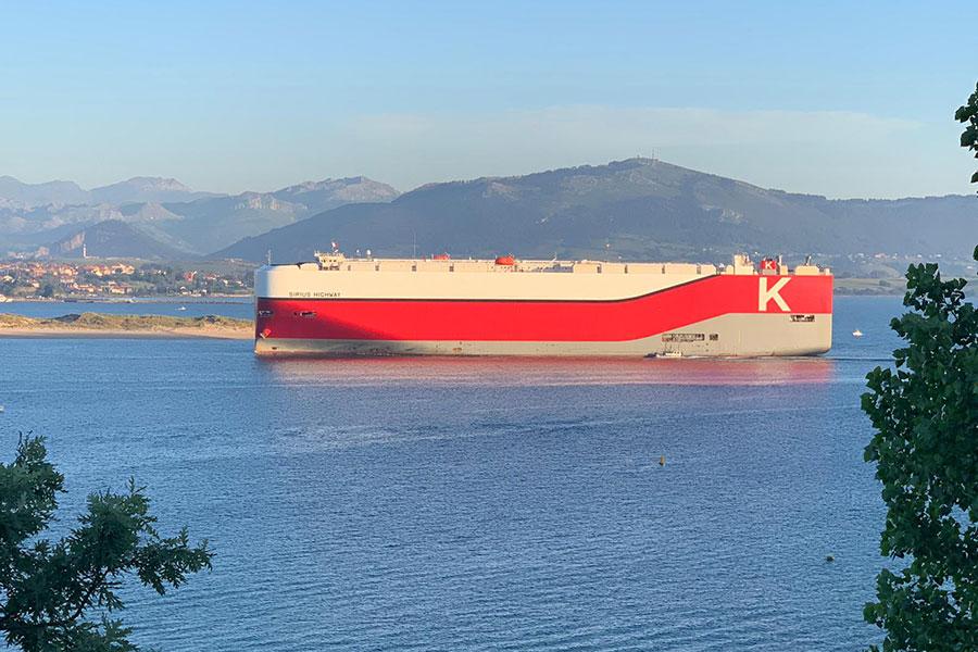 """""""K"""" Line Car Carrier will visit Santander"""