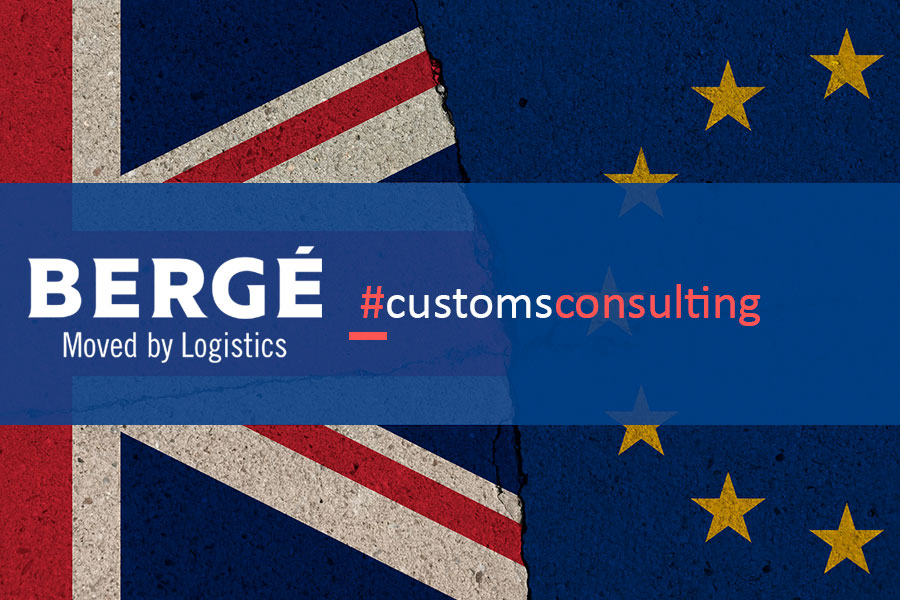 BERGÉ will manage all of the customs procedures for its clients after BREXIT