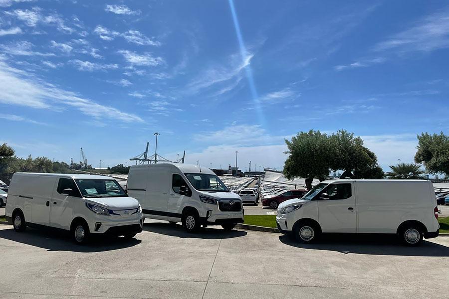 Automax España, distributor of Maxus, chooses BERGÉ GEFCO to manage its logistics throughout the Iberian Peninsula