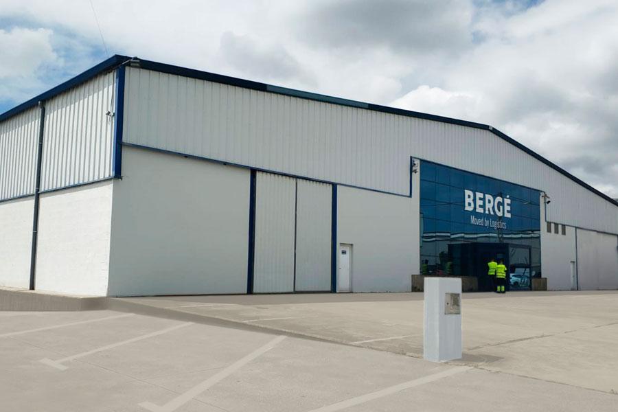 BERGÉ opens a new logistics platform in A Coruña for supermarket distribution